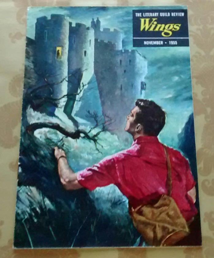 THE LITERARY GUILD REVIEW, WINGS, NOVEMBER 1955