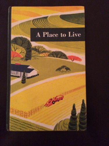 1963 YEARBOOK OF AGRICULTURE Farms US Department A PLACE TO LIVE book