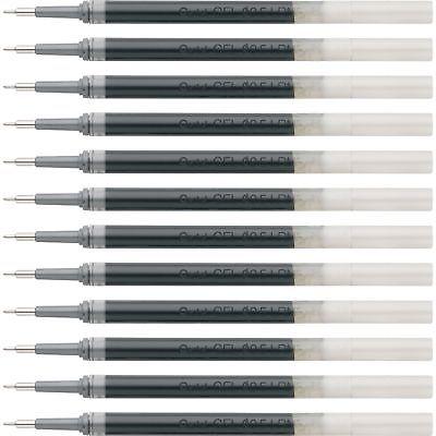 Pentel Gel Pen Refills f/EnerGel 0.5mm Needle Tip 12/BX BK Ink LRN5ABX