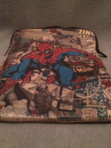 Marvel Spiderman Cushioned Tablet/iPad, Zippered Holder Case 8