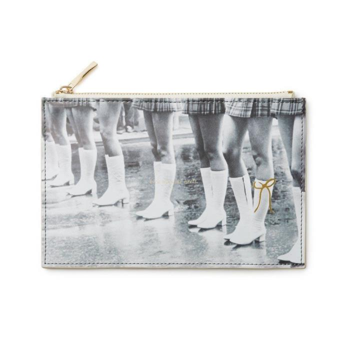 Kate Spade - Pencil Pouch - Kick Up Your Heels - $30.00 - Free Shipping - NWT