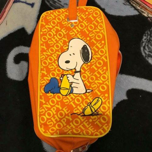 Snoopy 1970's Vintage Pencil Pouch/cosmetic Bag