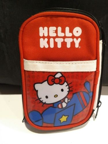 Hello Kitty Pen/Pencil Case Pouch Storage w/Zipper