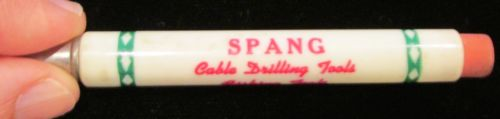 ADvertising Butler PA Spang Company Cable Drilling Fishing Tools Bullet Pencil