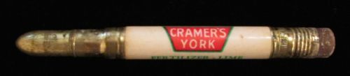 Advertising Bullet Pencil Cramers York Fertilizer Lime York Stone Supply PA