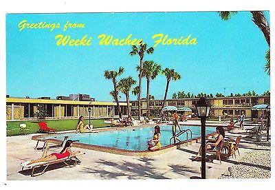 HOLIDAY INN---WEEKI WACHEE FLORIDA POSTCARD