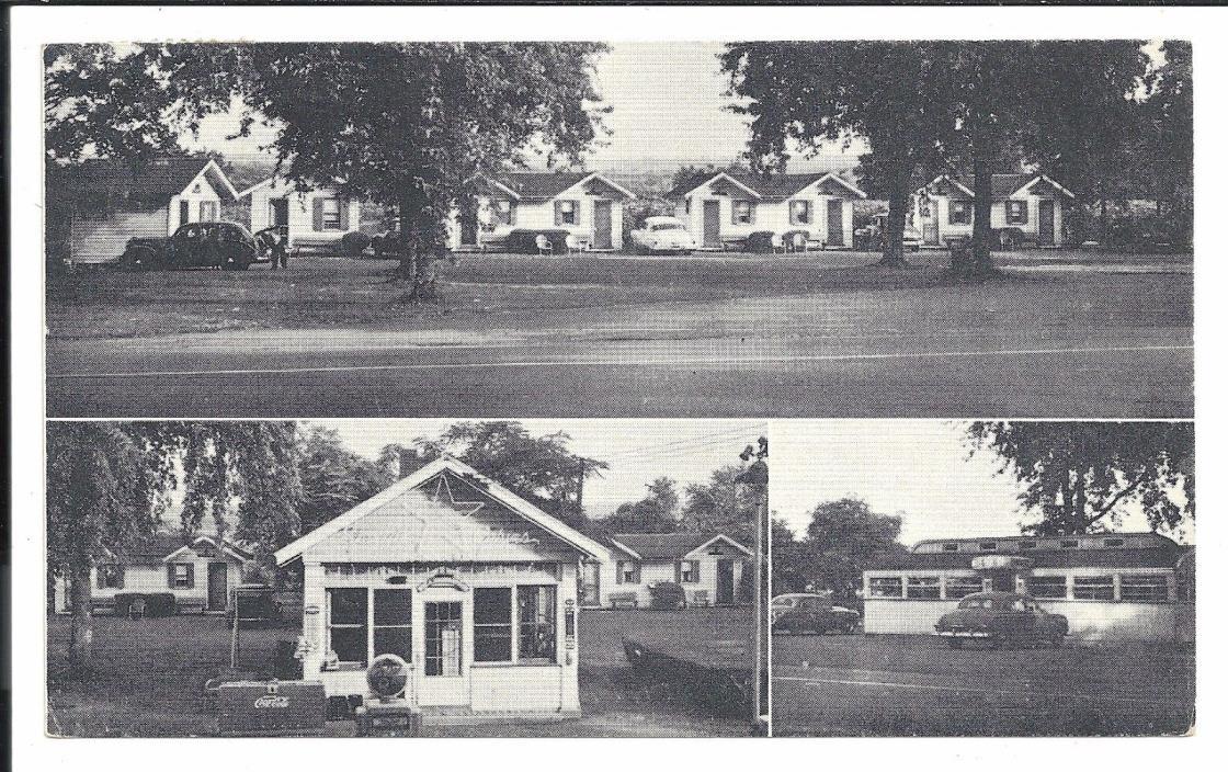 Starlite Camp and Diner Westfield NY Vintage Original Postcard