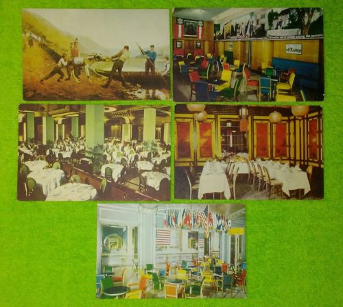 Kugler's Restaurant Philadelphia 5 Postcards