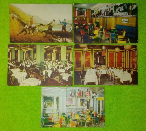 Kugler's Restaurant Philadelphia 5 Postcards