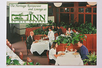 Postcard Heritage Restaurant & Lounge at the Inn at Gig Harbor Washington