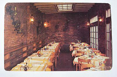 Postcard Tally Ho Restaurant Dining Room Washington DC Posted 1949