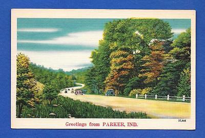 Vintage Linen Postcard
