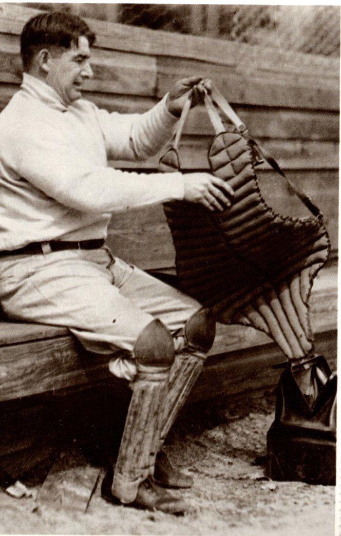 Roger Bresnahan, Catcher, Great Baseball Players of Past Postcard