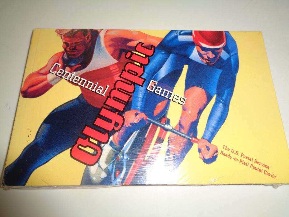1996 CENTENNIAL SUMMER OLYMPIC GAMES 20 cent Postcard Set of 20  in book *