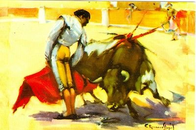 Bull Fighting,  Medio Pase