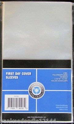 10000 New PSD First Day Cover Sleeves 3 15/16