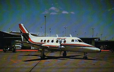 Air US Handley Page Jetstream 3, Denver --- Airplane, Plane, Aircraft Postcard