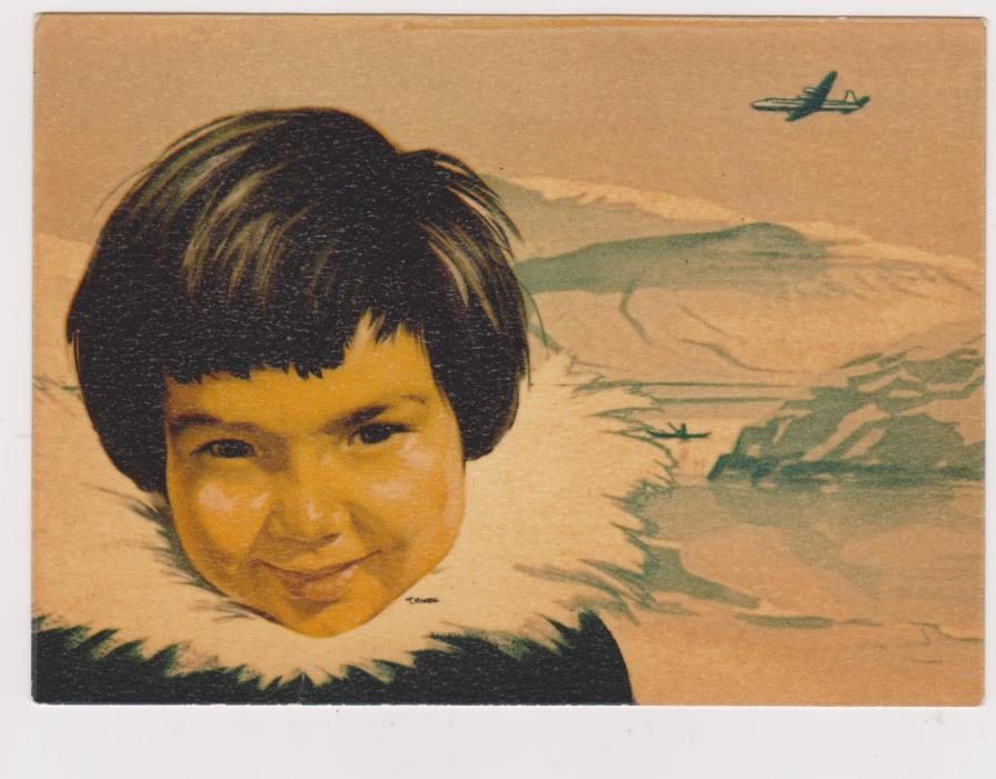 SAS Polar Route , Eskimo Boy , 50-70s