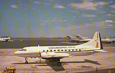 Cosmopolitan Airlines Convair 440 --- Airplane, Plane, Aircraft Postcard