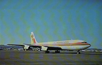 Aeroamerica International, Boeing 707-131 --- Airplane, Plane, Aircraft Postcard
