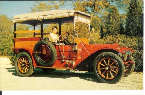 Vintage Postcard 1911 Pierce Arrow  Wagon Automobile Henry Clark Jr Collection