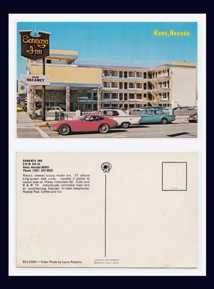 TOYOTA 2000GT AT INTERSECTION IN RENO NEVADA CIRCA 1968 MIKE ROBERTS, PUBLISHER
