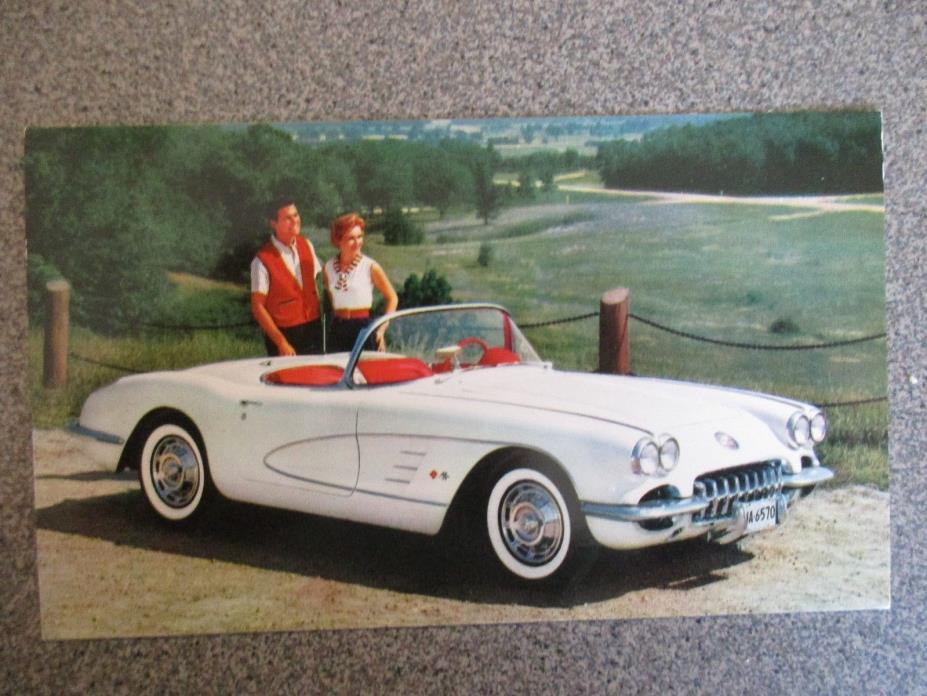 1959 Rare Excellent COMPLETE SET of 13 1959 Chevrolet CAR TRUCK COLOR Postcards