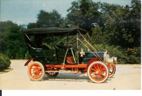 Vintage Postcard 1905 Pierce Great Arrow Automobile Henry Clark Jr Collection