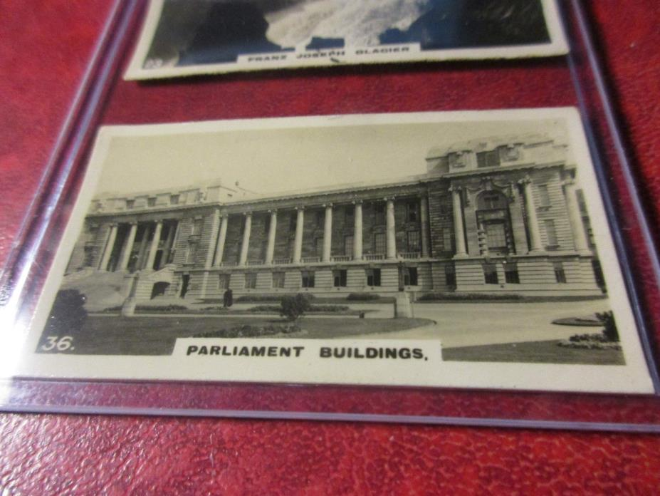 1928 Virginia Cigarettes Card #36 - New Zealand - Parliament House