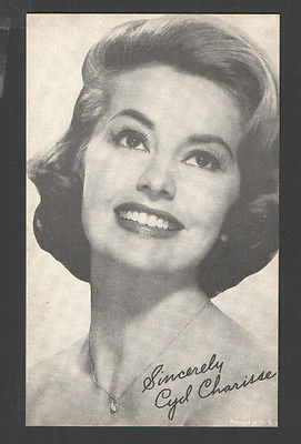 EXHIBIT ARCADE CARD Sincerely CYD CHARISSE