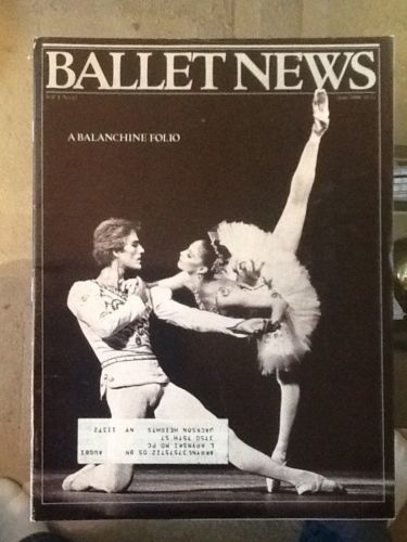 Ballet News Magazine, June 1980