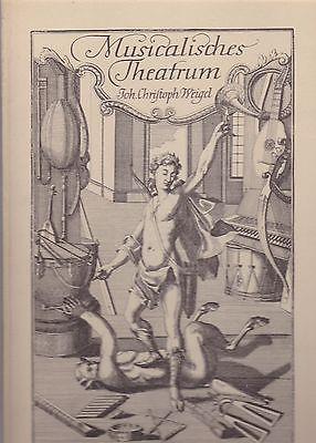 MUSICALISCHES THEATRUM von Johann Chriftoph Weigel 1964 w/ Slipcase.