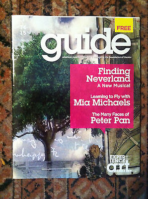 Finding Neverland American Repertory Theater Guide  Gary Barlow Eliot Kennedy