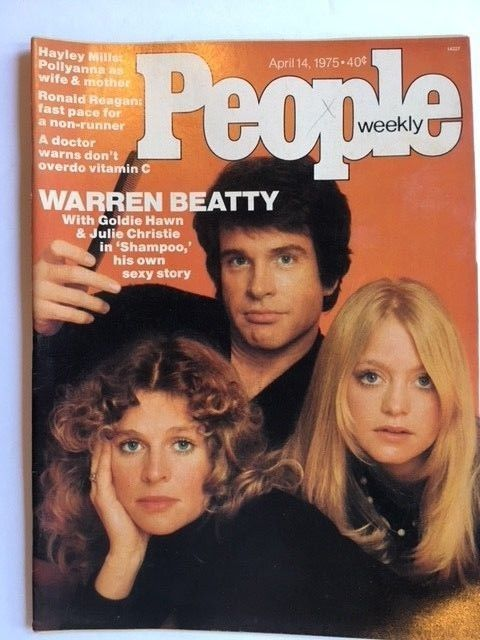 PEOPLE MAGAZINE FEATURING WARREN BEATTY