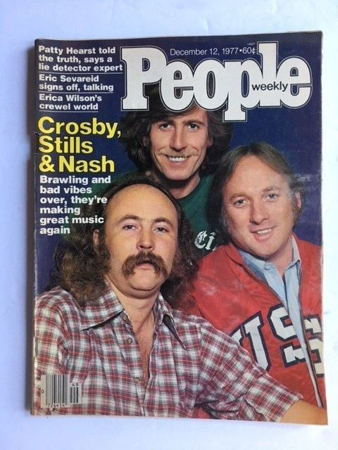 PEOPLE MAGAZINE FEATURING CROSBY,STILLS & NASH