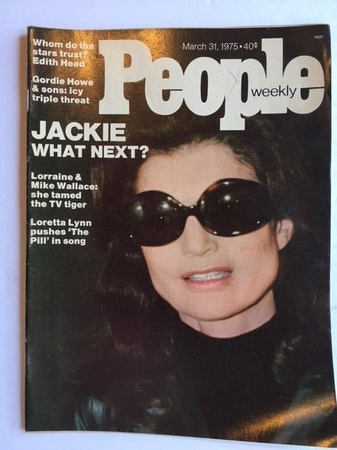PEOPLE MAGAZINE FEATURING JACKIE