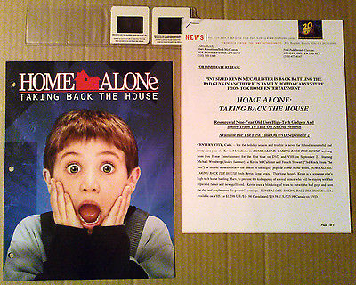 Presskit~ HOME ALONE 4 Taking Back The House ~2002 ~Mike Weinberg ~Joanna Going