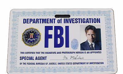 X-FILES - Fox Mulder Prop ID Badge