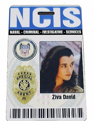 NCIS - Ziva David Prop ID Badge