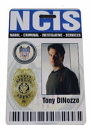 NCIS TV Series ID Badge - Anthony Dinozzo costume cosplay
