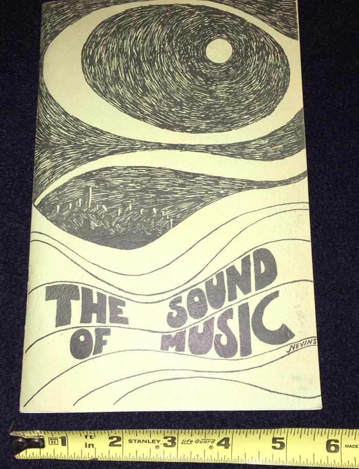 The Sound of Music playbill Bishop Muldoon High School Jefferson Junior High