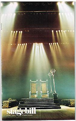 Chicago STAGEBILL Court Theatre at Univ. of Chgo ANTIGONE 1982-1983 Season