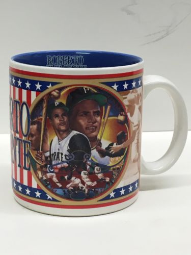 1993 ROBERTO CLEMENTE SPORTS IMPRESSIONS COFFEE CUP/MUG