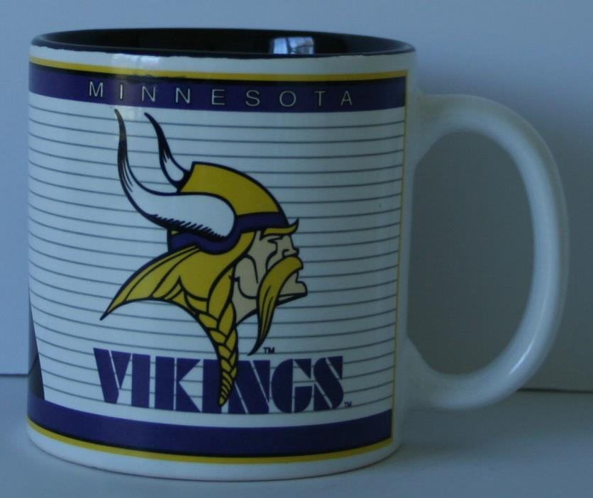 Vintage 1994 MINNESOTA VIKINGS Coffee Mug Team NFL Sports Impressions vikes MN