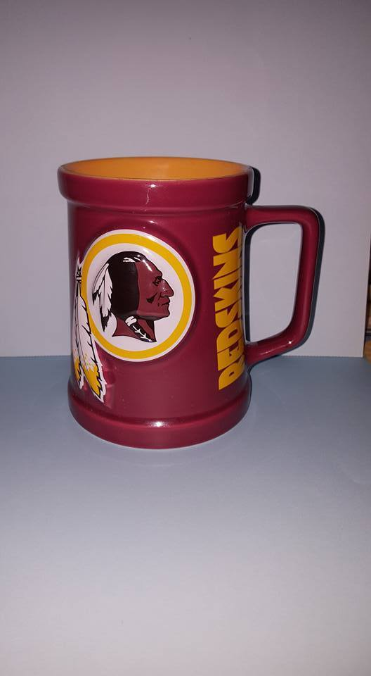 NFL Redskins MegaMug Express 16oz Mug; Made in Thailand