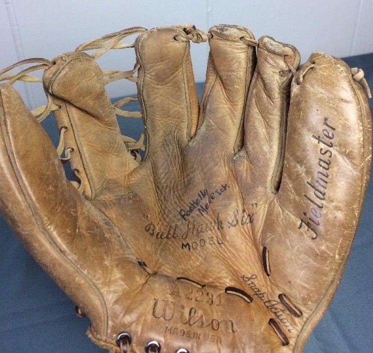Wilson Field Master Ball Hawk Six Model A 2231 Baseball Glove
