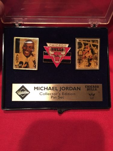 Upper Deck Michael Jordan Collector's Edition Pin Set