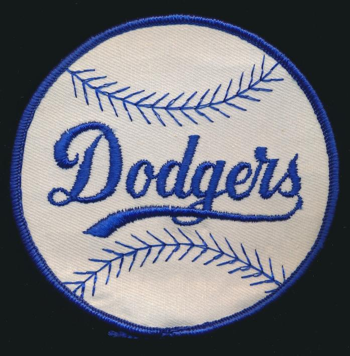 1950''s Brooklyn/L.A. Dodgers -ORIGINAL PATCH *Unused* -NICE SHAPE