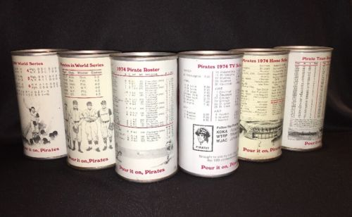 Vintage Iron City Beer Can lot~Pittsburgh Pirates