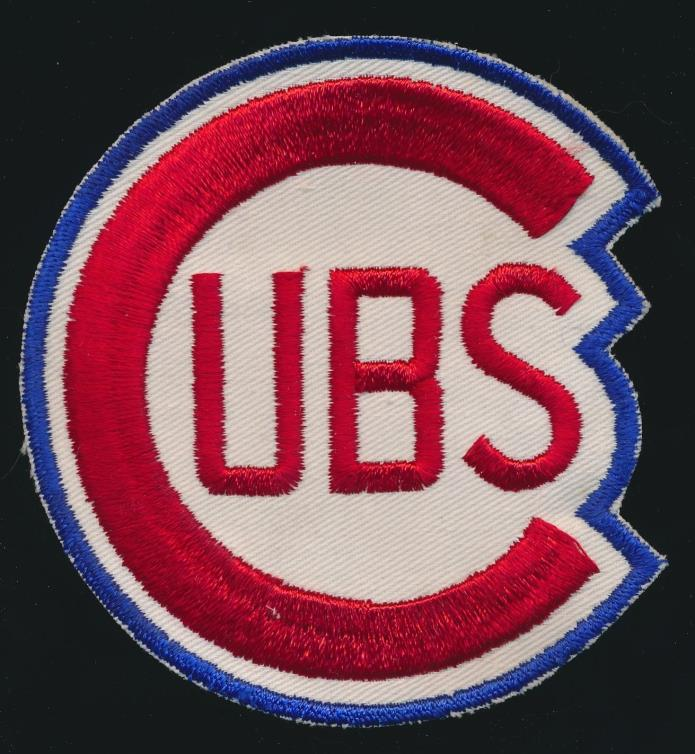 1960-1970's Chicago Cubs -ORIGINAL PATCH *Unused* -NICE SHAPE